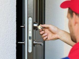 cambio serratura porta blindata