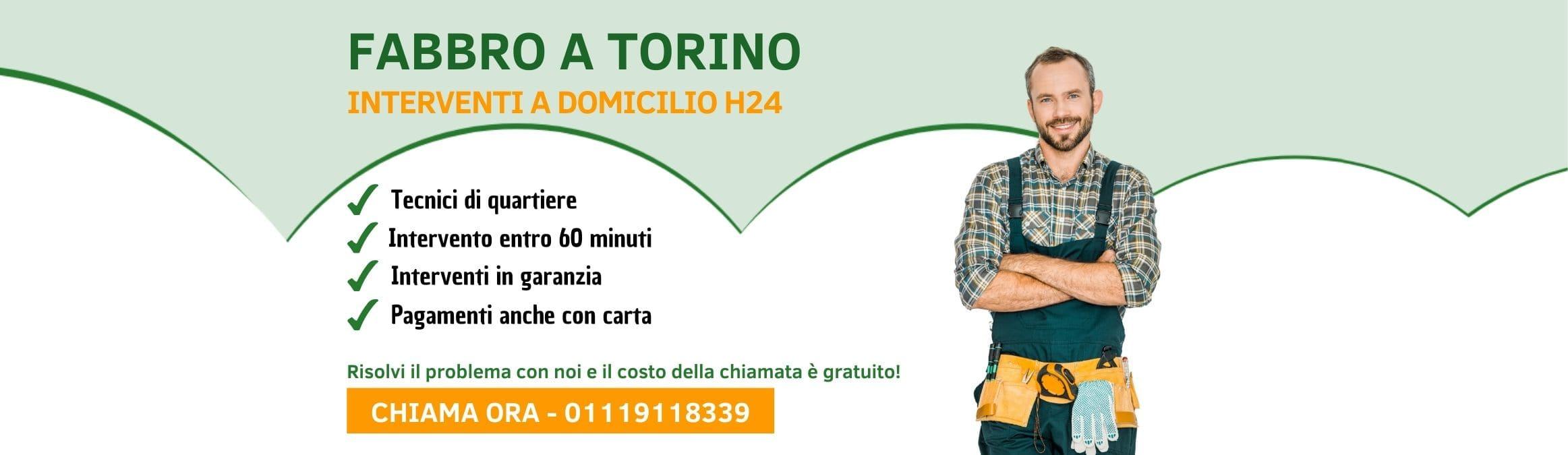 Fabbro Torino - Pronto intervento h24